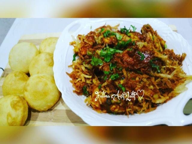 Roast Chicken & Puris