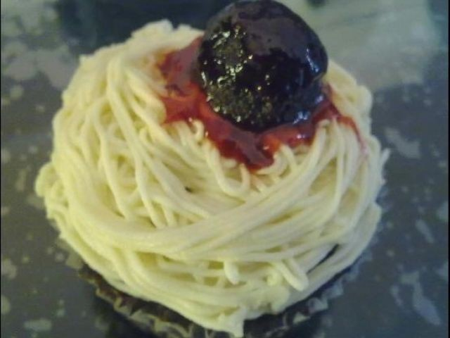 Spaghetti & Meatball Cuppies
