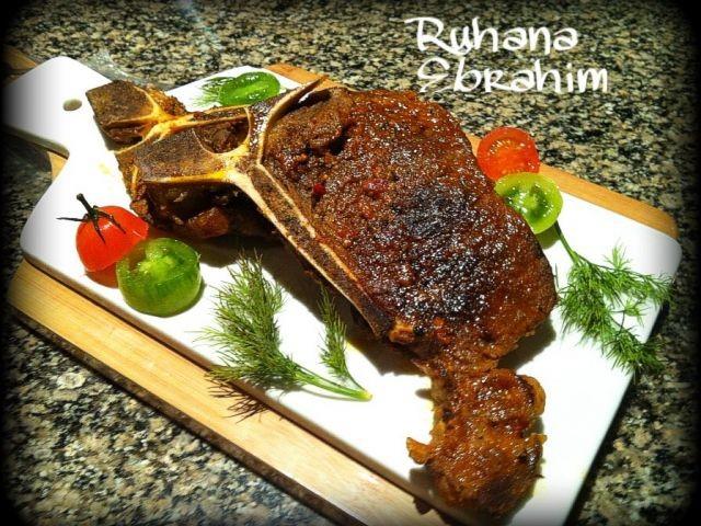 Masala T-bone Steak