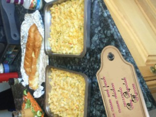 Sour Cream And Fresh Cream Chicken Casserole