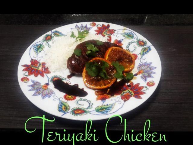 Teriyaki Chicken -by Siba Mtongana