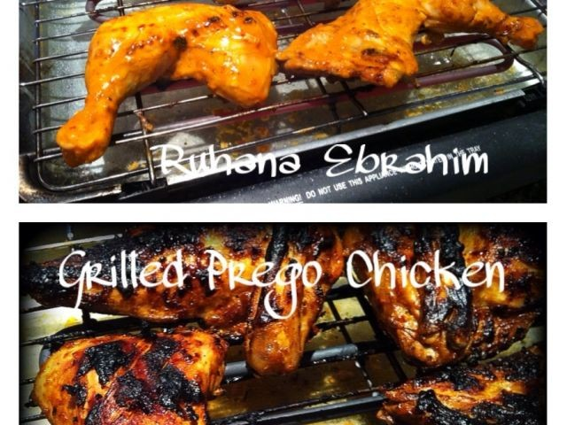 Grilled Steers Prego Chicken