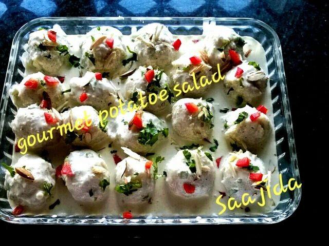 Gourmet Potatoe Salad 👌💜👌
