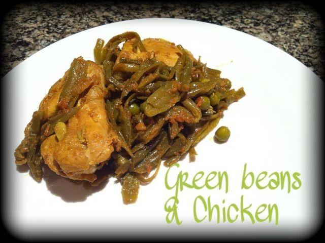 Green Beans & Chicken
