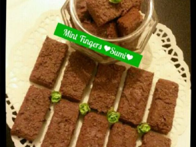 Choclate Peppermint Biscuits