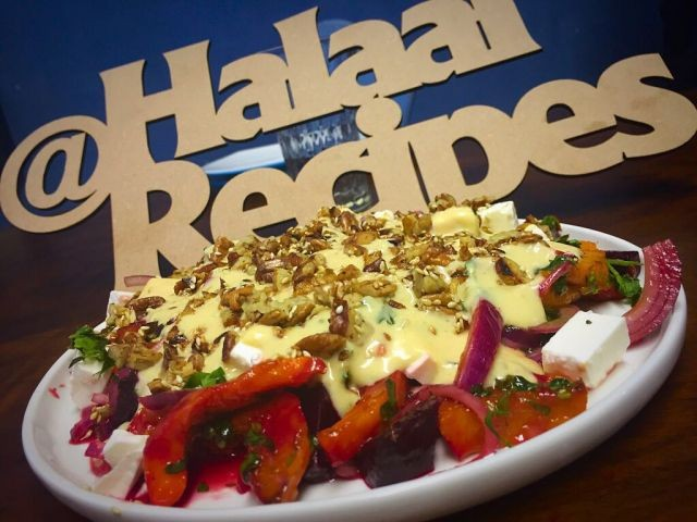 Beetroot And Butternut Salad / My Recipes