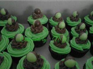 Choc Mint Cupcakes