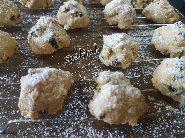 Coconut & Current Biscuits
