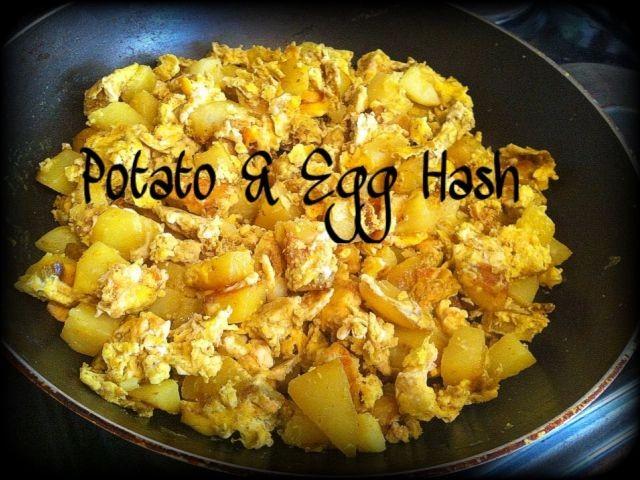 Potato & Egg Hash