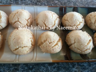 Coconut Naan Khatai - My Recipe