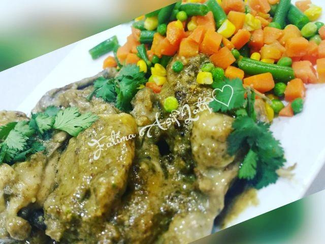 Saucy Jalapeño Chicken With Mixed Veg