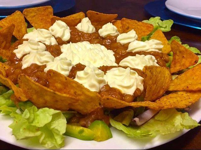 Doritos/nachos Salad / My Version