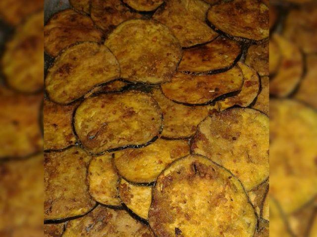 Crispy Fried Brinjal