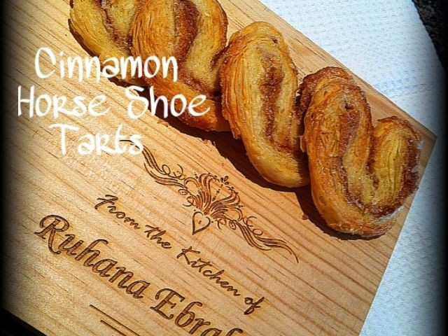 Cinnamon Horse Shoe Tarts