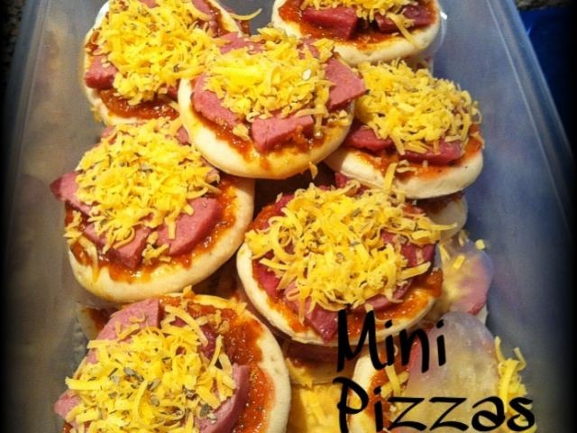Mini Polony Pizzas