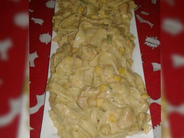 Creamy Fettucine