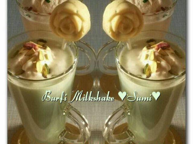 Burfi Milkshake