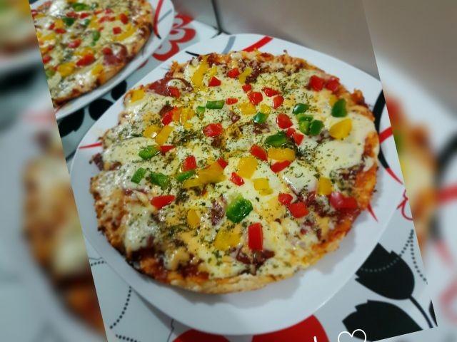 Easy Stove Top Pizza