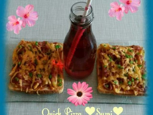 Chips Bread Pizza