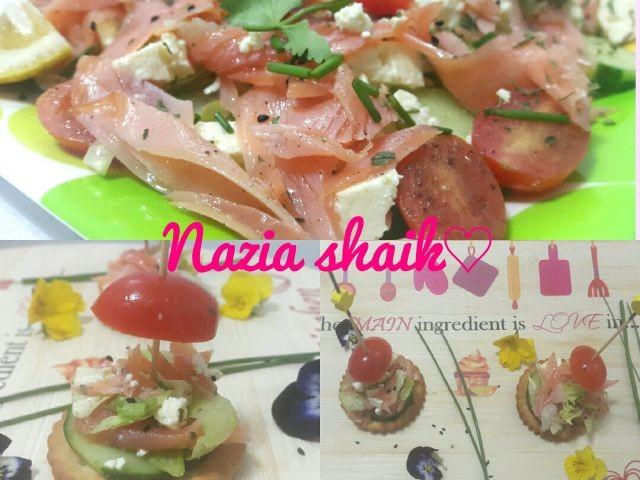 Norwegian Salmon Salad