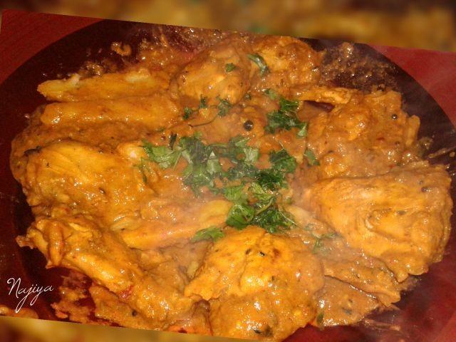 Chicken Kalya