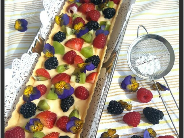 Fruit Tart With Creme Patisserie