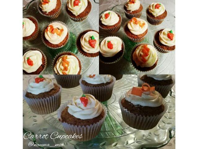 Carrot & Pecan Cupcakes