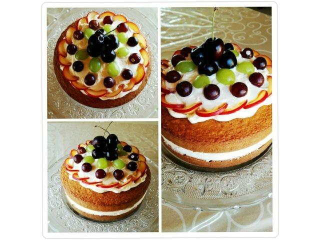 Vanilla And Fresh Cream Cake