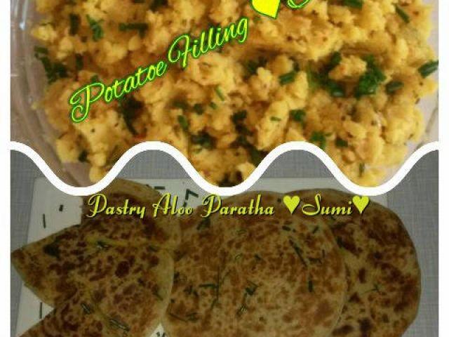 Pastry Aaloo Paratha