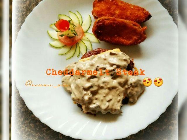 Cheddarmelt Steak