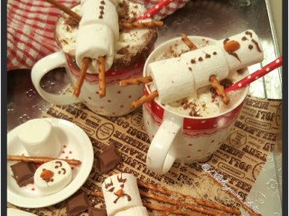 Marshmallowmen Hotchocolate Chocolate