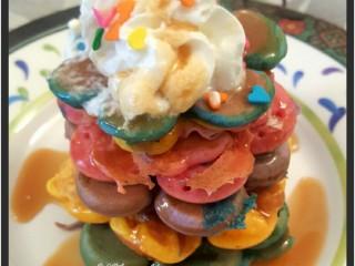 Rainbow Crumpets