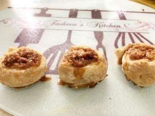Brown Sugar And Walnut Puff Pastry Swirls