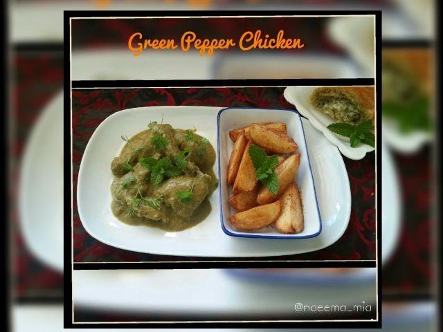 Green Pepper Chicken
