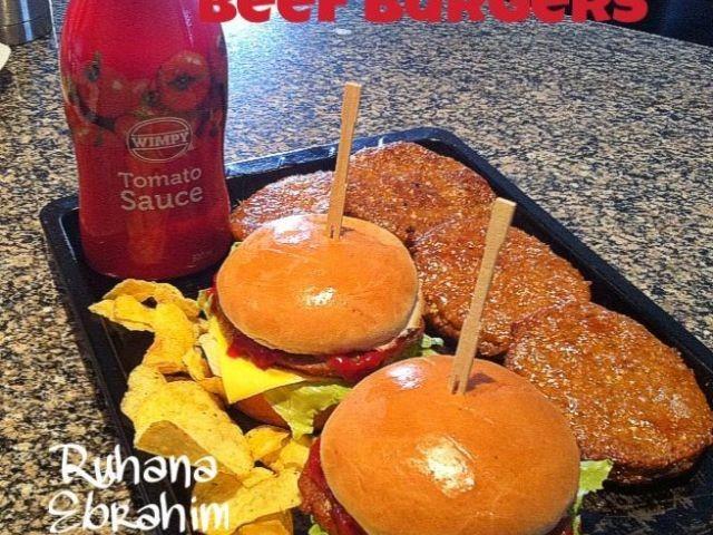 Mock Wimpy Beef Burgers