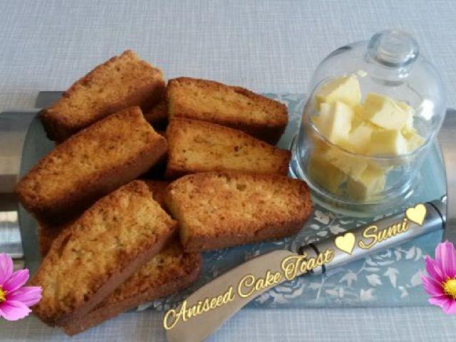 Aniseed Cake Toast