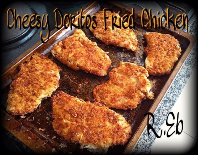 Cheesy Doritos Fried Chicken