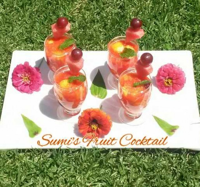 Sumi's Fruit Cocktail