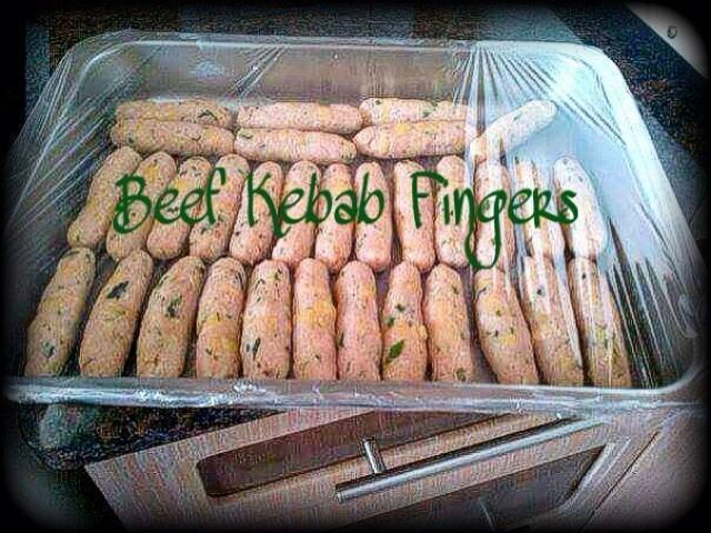Beef Kebab Fingers