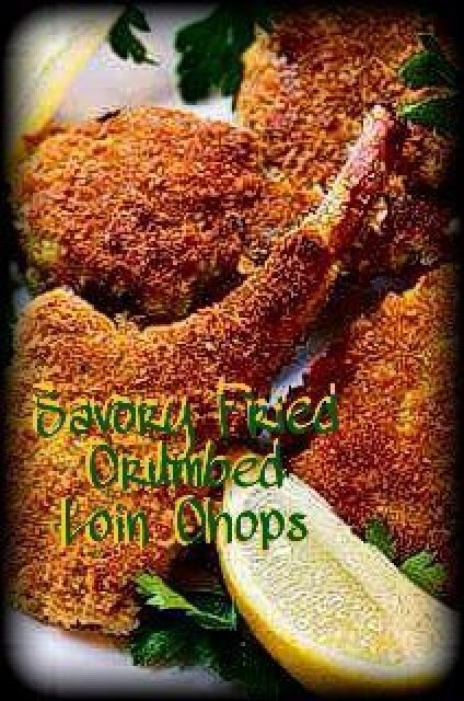 Spicy Crumbed Lamb Chops