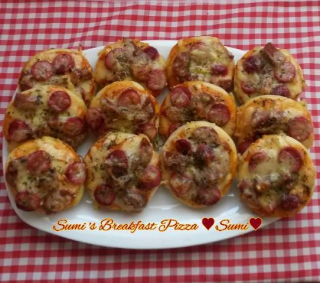 Sumis Breakfast Pizza