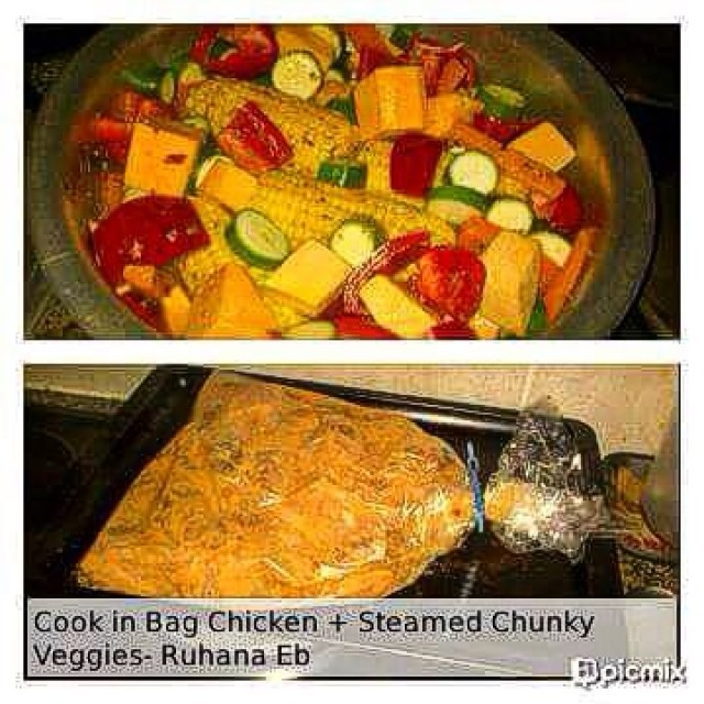 Cook In The Bag Spicy Roast Chicken