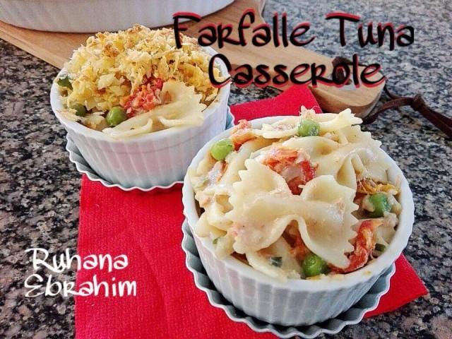 Baked Farfalle Tuna Casserole