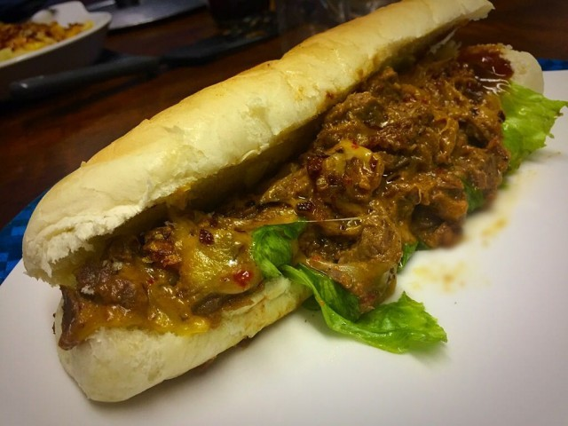 Philly Cheese Steak Copy Cat / My Version