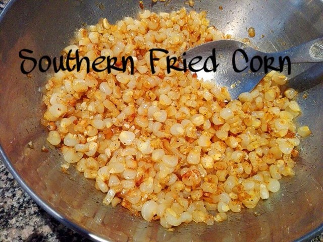 Spiced Southern Fried Corn