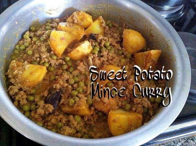 Sweet Potato Mince Curry