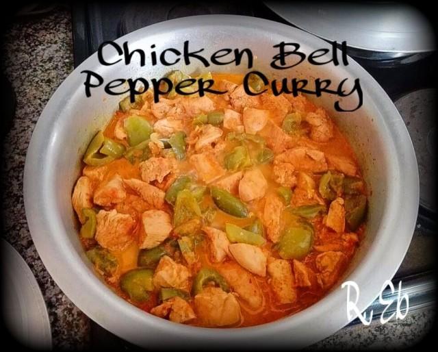 Chicken & Bell Pepper Curry