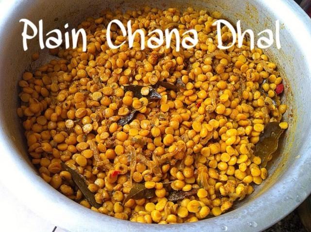 Plain Chana Dhal