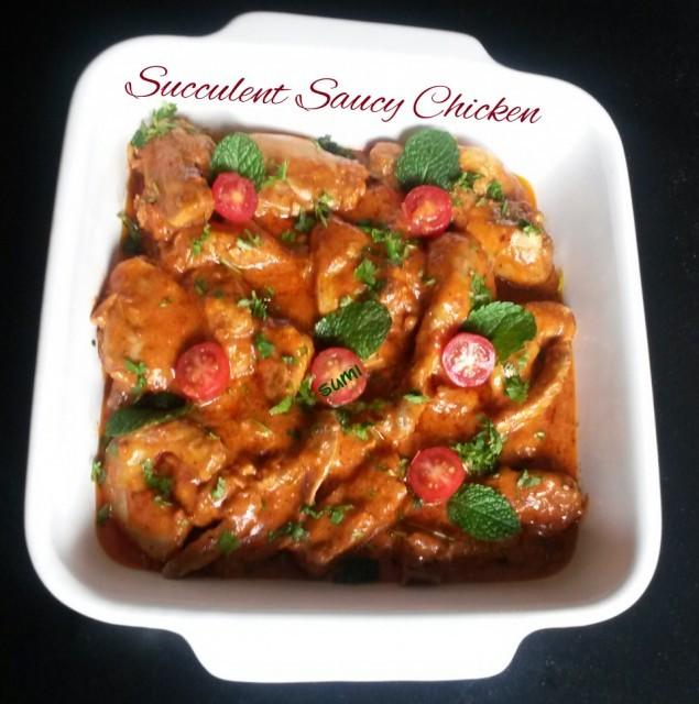 Succulent Saucy Chicken