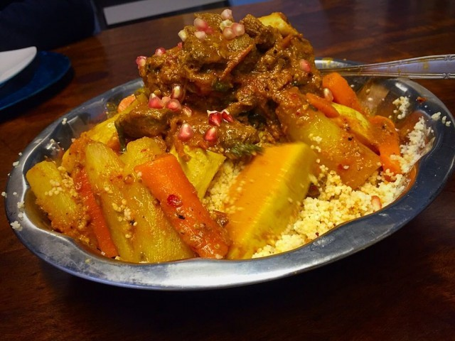 Moroccan Inspired Lamb And Veggie Couscous / My Recipe